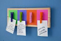 ORGANIZAÇÃO / Ideias para organizar espaços grandes e pequenos / by Luciana Silva
