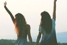 Besties / Best friends make the good times better and the hard times easier!