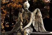 Cemetery Angels / Beautiful and serene cemetery angels. / by Julie Lane Collins