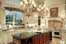 KITCHENS & IDEAS / This Board is dedicated to my search for and appreciation of the Ultimate Dream Kitchen.  While I am designing my Dream Home, I am collecting great ideas for every aspect of it - including smart storage ideas.