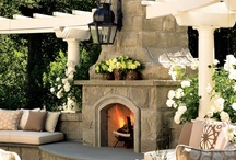 FIREPLACES: Indoor & Out / This Board is dedicated to Fireplaces: Indoor and Outdoor, with decorating and storage ideas.