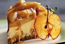 FALL foods = YUM! / A collection of pumpkin and apple recipes. Just give me a big spoon right now! / by Tracy Thom Guerra