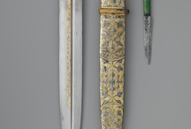 antique silver weapons