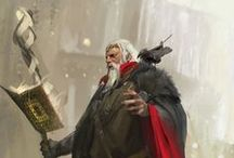 Art- RPG Characters / Character design, creature design, concept art, and landscapes. / by Scott Leggett