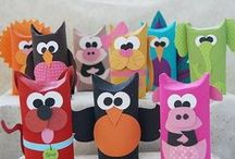 Kids' Arts and Crafts / #Fun and #Creative Arts and Crafts for #Kids! / by SensoryEdge