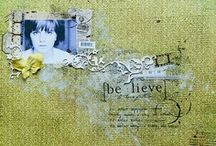 "Digital Scrapbooking / I'm way into digital scrapbooking- there's no muss, no fuss, no glue sticks, and things can easily be fixed.  This board is full of inspiring images I've found- pages I want to ""Scraplift."" / by Emily Walters LeBaron"