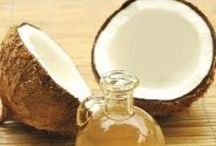 coconut oil / Coconut oil, it's many uses. Wonderful, miraculous fruit! / by Ruthanne Riley