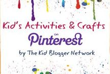 Kid Blogger Network Activities & Crafts / This is a collaborative board from amazing bloggers that focus on anything related to kids.  With the foundational belief that playing and crafting with children improves well-being, creative thinking, and strengthens relationships.