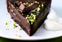 yum! / my favourite foods: banana, cocoa, coffee, pancakes, veggies and noodles / by Karen Wrai Karn