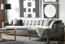 All Gray Everythin' / Interior Design: Gray Interiors and Other Eye Candy