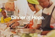 Dinner of Hope / Geef je eigen inzamelingsdiner en red een baby! Kijk ook op www.dinnerofhope.nl