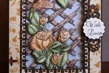 Bella Rose Collection / Heartfelt Creations Roses and Leaf swirl dies and matching stamps