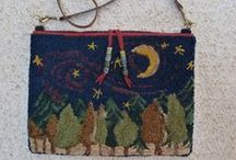 Rug Hooking Purses & Bags / by Sylvia Gauthier