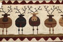 Rug Hooking Christmas / by Sylvia Gauthier