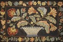 Rug Hooking Floral, Plants... / by Sylvia Gauthier