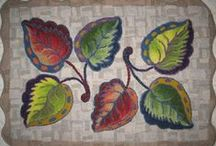 Rug Hooking Floral, Plants 2 / by Sylvia Gauthier