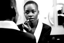 Lupita Nyong'o / Just because I am a HUGE FAN of her. She is so talented. And have you seen this smile ? A real inspiration, an icone and she is intelligent. Just pictures of Lupita Nyong'o (and more notes on http://www.ivy-mag.com)