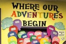 Classroom Ideas / Classroom Theme: Camping/Nature Sayings: Camped Out in the Reading Corner Camped Out with a Good Book  / by Clair Graves