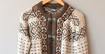 #Knit Kofte, Lopi, Bohus / Knitted sweaters and cardigans - traditional Scandinavian and Northern European - stranded knitting, intarsai, colourwork.