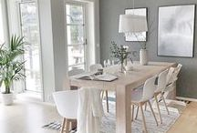 Shades of Grey / Some of my fave interiors using grey as a neutral