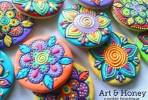 decorated cookies / by Elizabeth Farrell