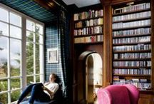 Reading spaces / Books, shelves, home libraries - Libri, scaffali, librerie