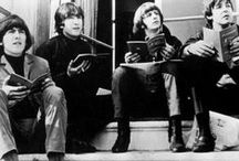 The Beatles....black & white / by Beth Myers