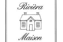 Rivièra Maison / De mooie meubels en accessoires van Rivièra Maison!