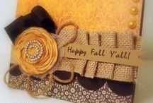 Greeting cards / Paper crafts / Punches / Stamping / by Linda Vogel