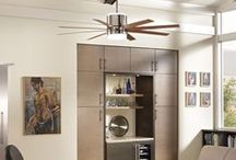 Living Room Ceiling Fan Ideas / by Feiss - Monte Carlo