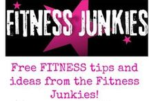 Free Fitness tips from the FITNESS JUNKIES! / Enjoy this board of FREE fitness tips and workout videos from the Fitness Junkies!  You can connect with the pinners by connecting with their Facebook page and/or Instagram that is on their pins!  We are here to help you reach your fitness goals!   / by Jen Delvaux