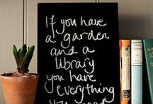 Gardens + Libraries / flower gardens, libraries, outdoor, patio, landscaping, garden paths, garden furniture, book, bookshelves