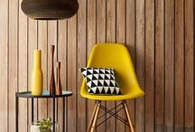 Mustard inspiration - For the Home / Home spaces with a color in common