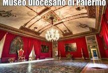 Museo Diocesano di Palermo (Mudipa) / Il Mudipa, nel Palazzo Arcivescovile di Palermo (accanto alla Cattedrale)  espone in 20 sale pitture, sculture e arti decorative dal XII al XIX secolo.