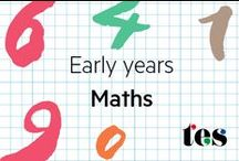 EYFS: Maths / An array of Ideas, resources and activities for EYFS maths. Early Years Foundation, pre-school.