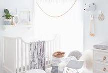 Chambre bébé / Baby's room / De jolies chambres de bébés, pour nous inspirer et faire de jolies décorations.