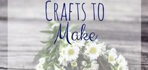 Craft Ideas / Craft ideas for mom relating to things around the house and for the kids. All about making life easier and save some money!