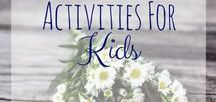 Activities for Kids / Fun activities for parents to do with their children. Tons of DIY games, crafts, and educational things that kids are sure to love!