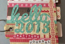 Scrapbook: Mom's Gratitude Journal / Gratitude Journal quotes, ideas, and pages