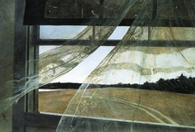 Andrew Wyeth  / Having grown up in Pennsylvania not far from Andrew Wyeth I have always been fascinated by his work. I love his use of light and attention to detail, something I focus on as a photographer.