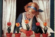 Jessie Wilcox Smith / Jessie Willcox Smith, best known for her illustrations of idealized children, painted the covers for Good Housekeeping magazine for 15 years.