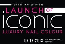 Iconic Luxury Nail Colour Launch Party. July 13, 2013 / Launch Party for Iconic Luxury Nail Colour