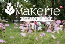 SUMMER ON THE FARM * 2 0 1 4 / a creative day retreat featuring modern crafting workshops & a fabulous farm dinner :: Sunday, July 13, 2014 :: the Lyons Farmette / by the Makerie