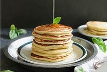 ☞ World of PANCAKES / Pancake recipes from around the world.  Pancake day is the day before the start of lent (February or March depending on the date of Easter). National Pancake Day - Sep 26 / by Deborah Russenberger