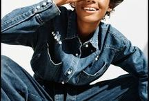 Denim Dames / Denim, denim, denim... jeans, jackets. Fabulous women. Perennial style.