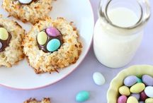 Easter Treats / Spring themed recipes for desserts and snacks!