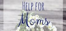 Help for Moms / Sometimes a mom just needs a little encouragement specifically for her. Words of encouragement and prayer for the family. Life with Jesus and kids is sometimes quite the whirlwind. Christian parenting is hard at times but with God and some good girlfriends we can make it through!