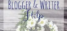 Blogger and Writer Help / Tips for bloggers and writers. Marketing and platform growth tips.