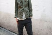 Khaki Malarkey / Army green is on the scene. It's the new neutral