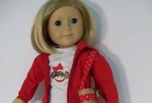 American Girl Doll Clothes and Stuff / Doll clothes I've made, like and patterns that I sometimes use and other interesting things that pertain to dolls. / by Lisa Carver